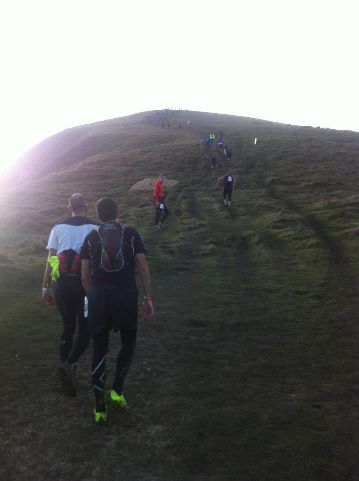Hills at the Endurance Life Dorset Marathon
